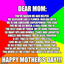 Love My Mom Meme - a poem for my mom imgflip