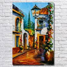 2017 cheap art paintings house landscape wall pictures modern home