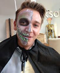 ghost face painting for halloween adults caragh u0027s party faces london