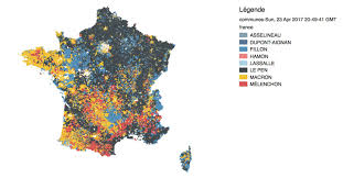 1980 Presidential Election Map by French Presidential Election 2017 Vivid Maps