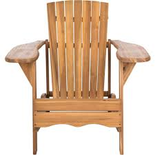 Acacia Wood Outdoor Furniture by Safavieh Mopani Outdoor Chair Walmart Com