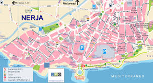 Map Of Southern Spain Tourist Guide To Nerja On The Costa Del Sol Axarquia Andalucia