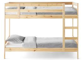 bunk beds wooden u0026 metal bunk beds for kids ikea