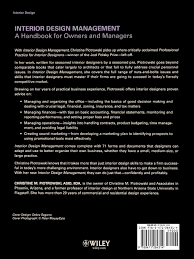 master design management interior design management a handbook for owners and managers
