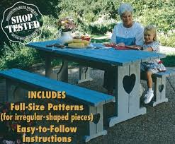 Traditional Octagon Picnic Table Plans Pattern How To Build A by Compare Price To How To Build A Picnic Table Aniweblog Org
