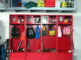 Since I Dont Have A Mud Room Or Much Of An Entry Way This Is A - Sports locker for kids room