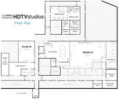 Studio Plan by Hdtv Studios