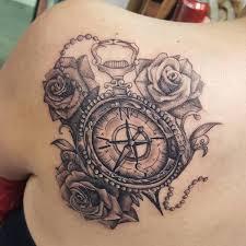 one piece compass tattoo 110 best compass tattoo designs wild tattoo art