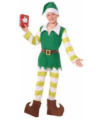 Elf Costume Halloween Jingles Elf Boy Costume Christmas Costumes