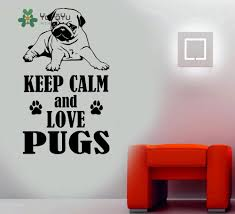 wall decals picture more detailed picture about pug wall