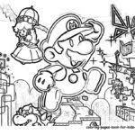 paper mario coloring pages bowser ebowser gekimoe u2022 91889