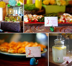 giraffe themed baby shower the celebration society