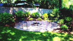 Ideas For A Small Backyard by Decor Small Backyard Landscape Ideas Using Pergola And Stools For