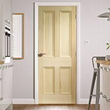 White 2 Panel Interior Doors by Edwardian 4 Panel Vertical Grain Pine Solid Door Cheap Pine Doors