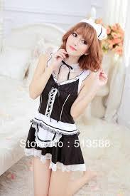 womens halloween underwear cosplay underwear women maid game uniforms pyjamas skirt