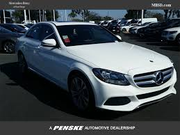 New Mercedes Benz C Class At Mercedes Benz Of San Diego Serving