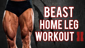 home leg workout build beastly legs with this workout pt