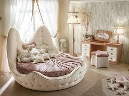 chambre feminine lit rond design pour la chambre adulte moderne en 36 idées superbes