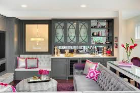 bar living room desk behind sofa design ideas