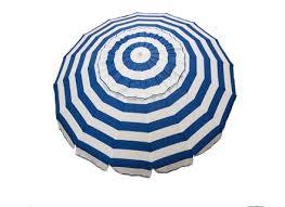 Blue And White Striped Patio Umbrella Striped Patio Umbrella Objectifsolidarite2017 Org