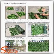 Artificial Plant Decoration Home Deer Head Wall Decorative Home And Graden Artificial Grass Wall
