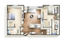 2 bedroom floorplans modern cus student apartments near uwf the next floor plans