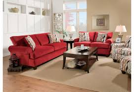 catchy red living room set with awesome awesome red leather living