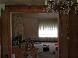 How To Remove Load Bearing Interior Wall Framing How Much Of This Load Bearing Wall Can I Remove Home