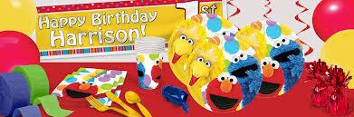 Halloween Birthday Party Supplies Sesame Street Party Sesame Street Party Supplies Shindigz