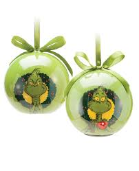 the grinch light up tree ornaments choose your style