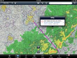 Weather Map Radar Ipad Quick Tip Visually Check Tfrs During Preflight Ipad Pilot News