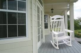 White Patio Rocking Chair by Weather Resistant Outdoor Rockers