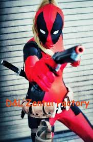 Deadpool Halloween Costume Dhl Arrival Body Lady Red Black Deadpool Zentai