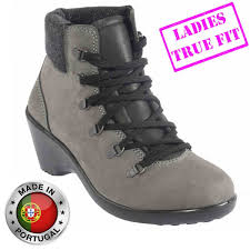 womens work boots uk lavoro geena esd black nubuck leather steel toe cap safety