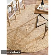 nuloom alexa eco natural fiber braided reversible oval jute rug 5
