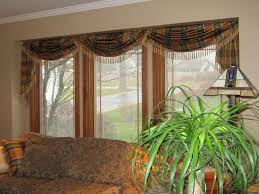 Bathroom Bay Window Bathroom Bay Window Treatment Options With Floral Upholstery Sofa