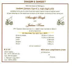 Dinner Invitation Card Wording Wedding Card For Girls Hindu Marriage In English Matter Wording