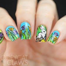copycat claws hpb and 40 great nail art ideas present spring nails