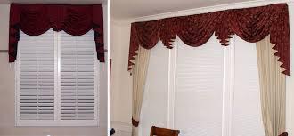 Swag Curtains For Living Room Swag Valances For Windows Custom Window Sconces I Swag Curtains I