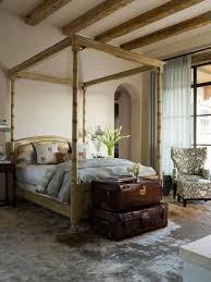 rustic bedroom furniture dark brown solid wood oak dark colored