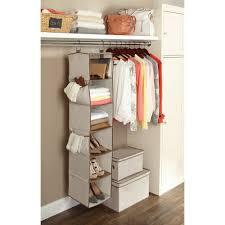 bedroom freestanding closet and closet organizer walmart