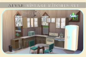 ts3 to ts4 alvar vintage kitchen set sims 4 designs ts3 to