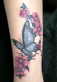 flower and butterfly leg tattoos insigniatattoo com