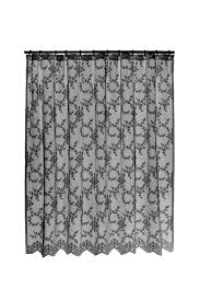 White Lace Shower Curtain With Valance by Downton Abbey Curtains Gifts For Fans Of Downton Abbey Gifts