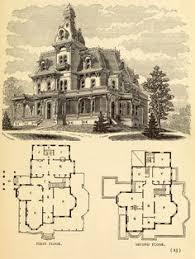 victorian era house plans victorian era mansion plan guest room pinterest victorian