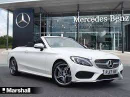 Mercedes C Class Coupe Convertible Used Mercedes Benz C Class Convertible For Sale Motors Co Uk