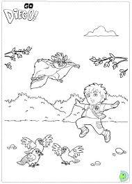 diego coloring dinokids org