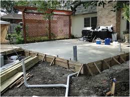 backyard sealing stamped concrete patio outdoor photo on excellent