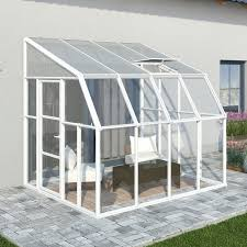 greenhouse sunroom rion sunroom 2 vinyl wall mounted gazebo reviews wayfair