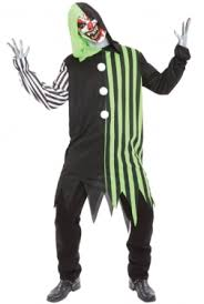 Evil Clown Halloween Costume Clown Costumes Clown Halloween Costumes Adults